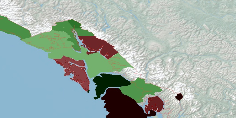 petersburg census area county dating Wrangell-petersburg census area-area historical earthquake activity is significantly below alaska state average it is 71% greater than the overall us average.